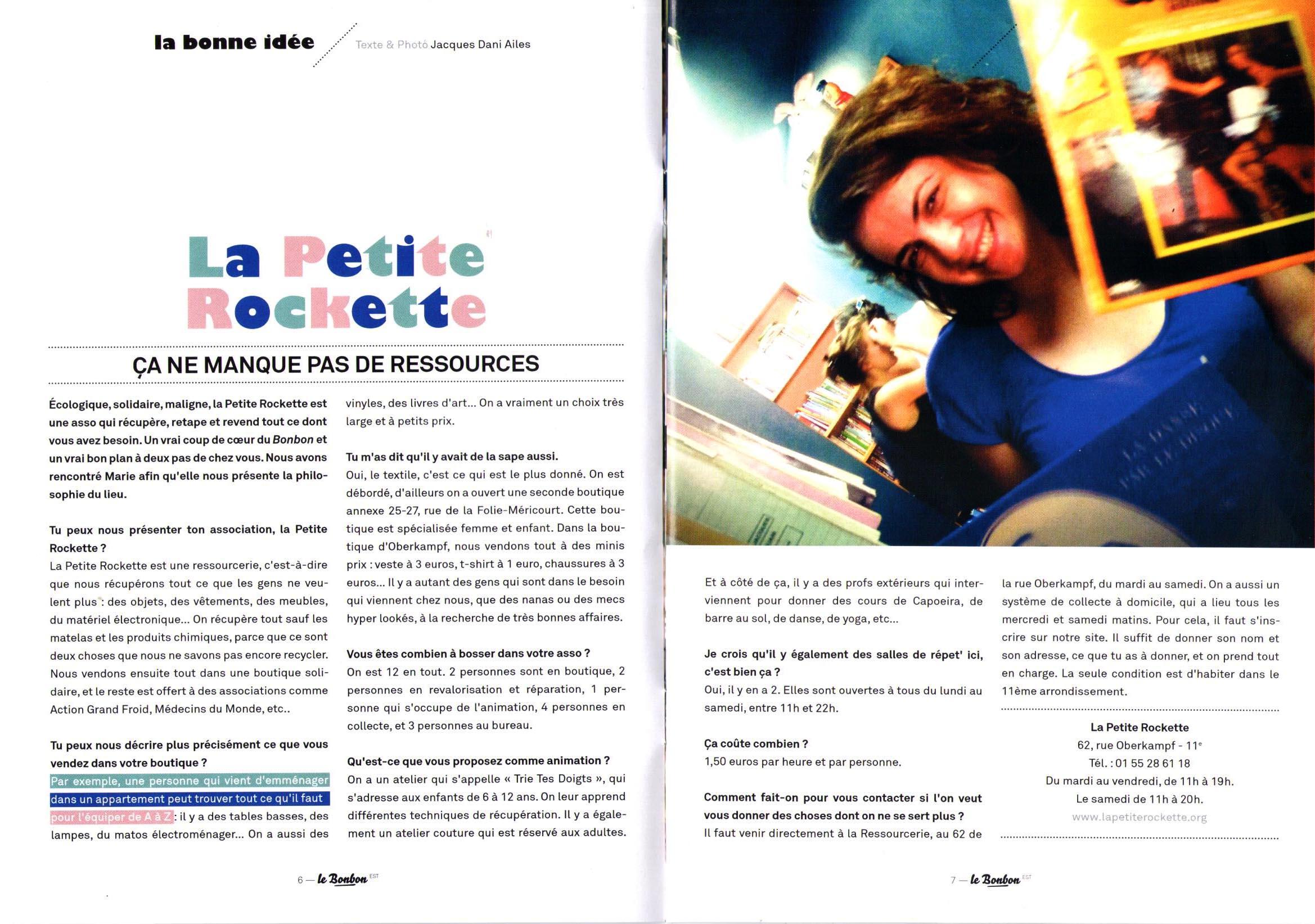 Le Bonbon - Sept. 2013