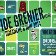 vide grenier 8 juin 2014 - La Petite Rockette
