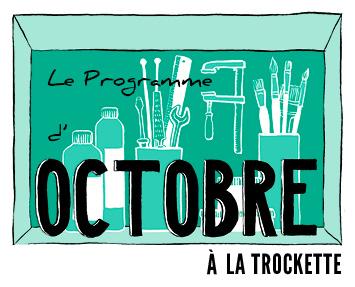 programme d'octobre en ligne