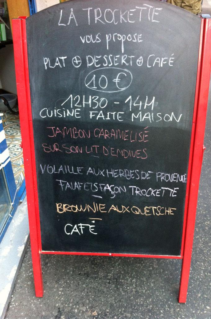 Tarif Et Menu Restaurant Lacaze