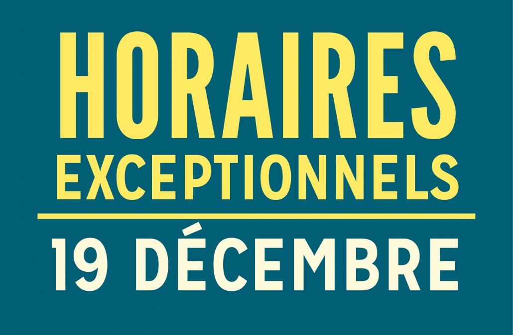 horaires exceptionnels_20191219_agenda