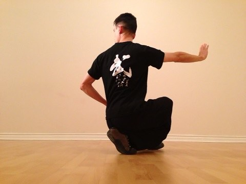 qigong cross stance