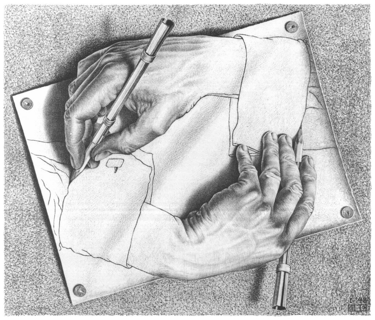Drawing_hands_escher_cours_de_dessin