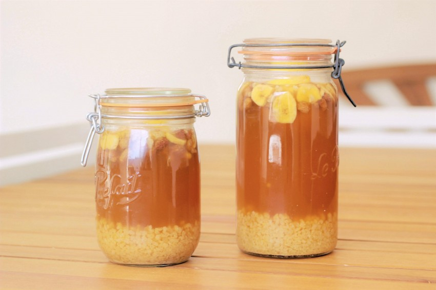 Atelier Kefir de fruit lacto fermentation