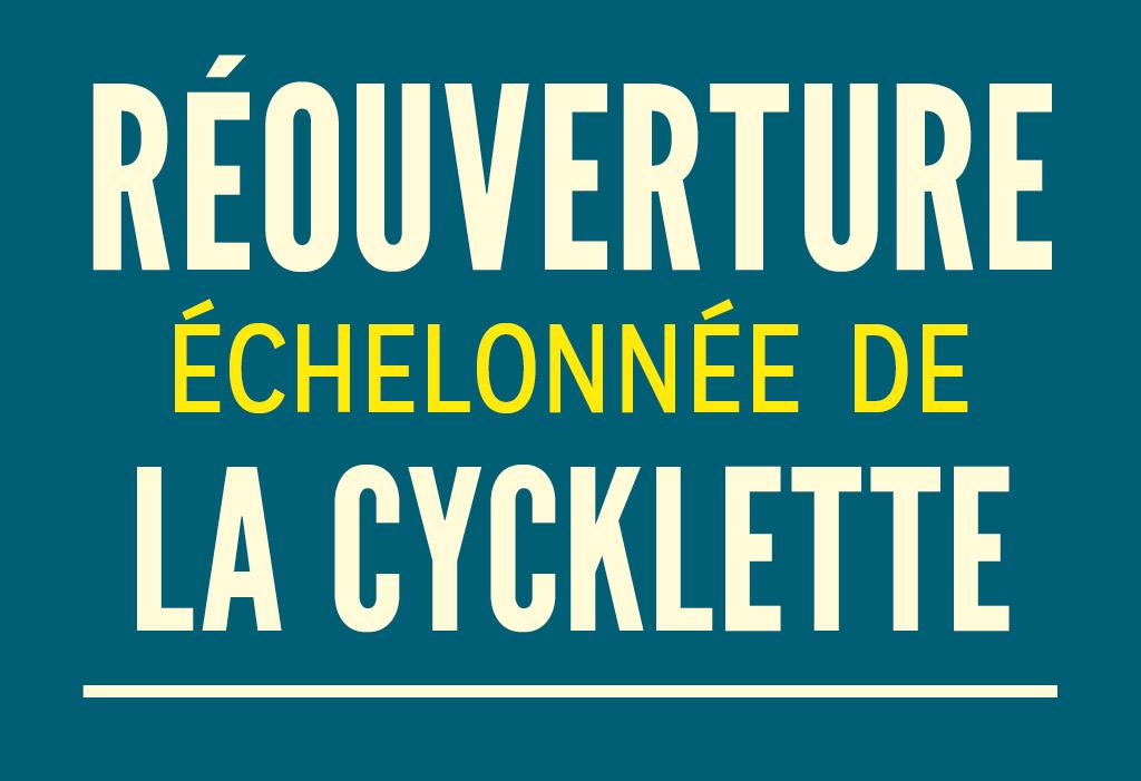 réouverture atelier vélo cycklette